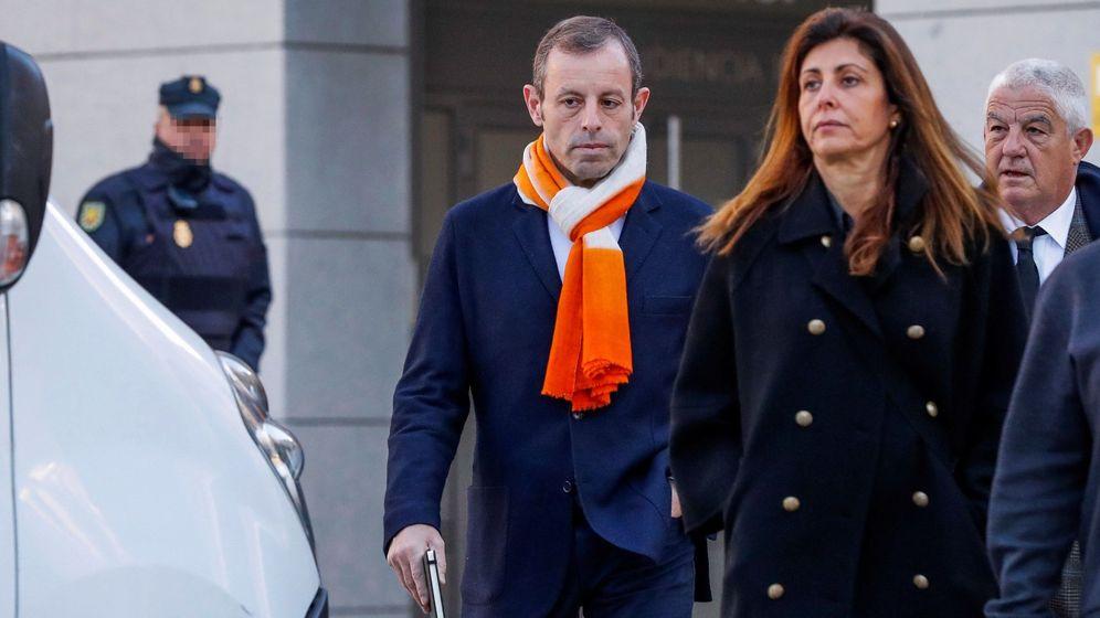 Foto: El expresidente del Barcelona Sandro Rosell. (EFE)