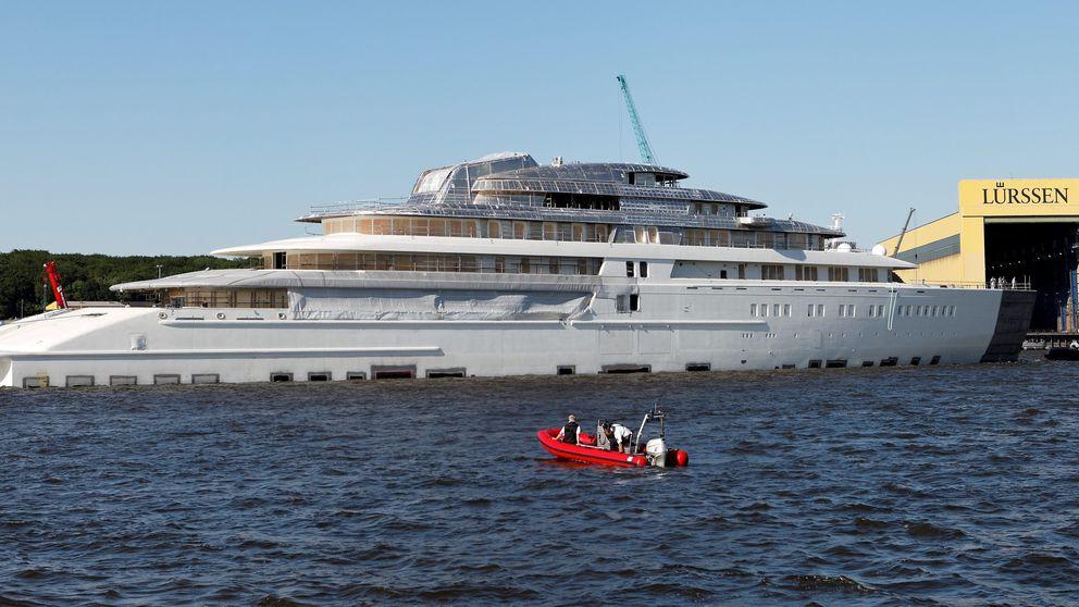 Los magnates rusos y los jeques se reparten los 10 yates más caros