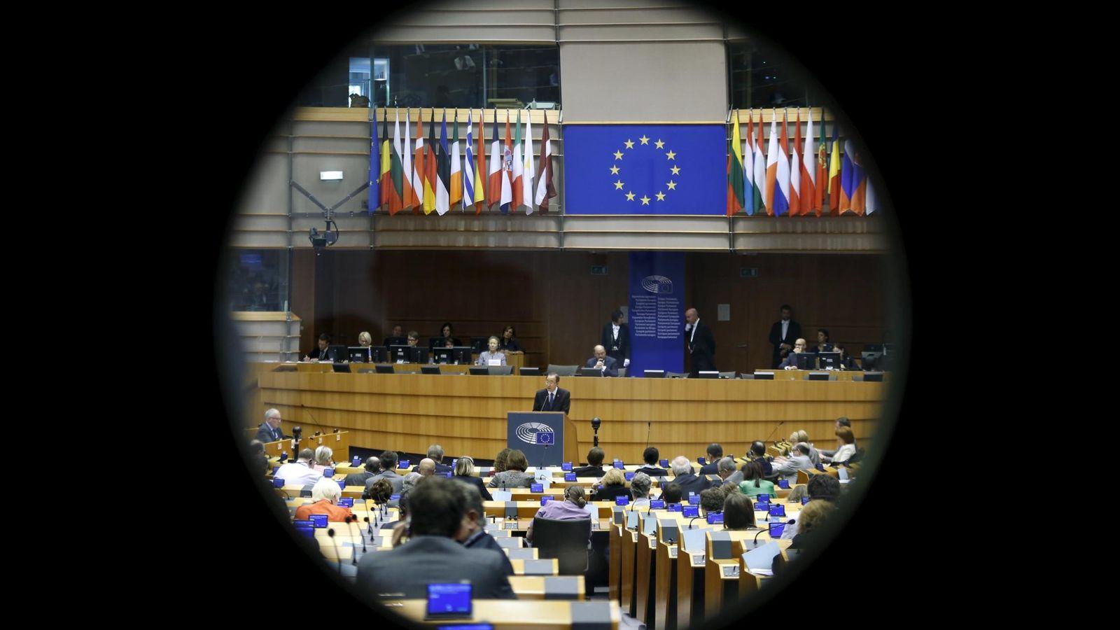 Foto: Imagen de una sesión plenaria en el Parlamento Europeo. (Reuters)