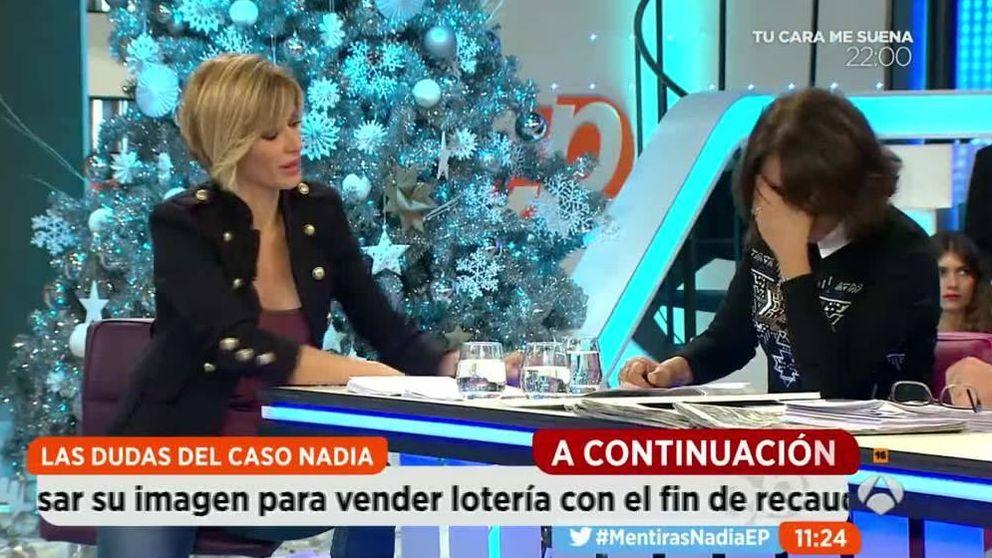 Isabel Gemio rompe a llorar ante Griso por el caso Nadia