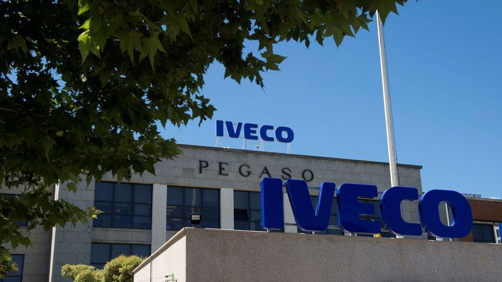 Foto: Vista de la sede de la empresa Iveco en San Fernando de Henares. (EFE)