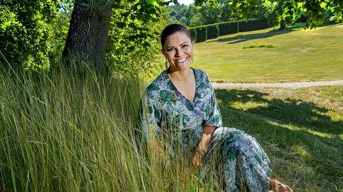 Los detalles de las nuevas fotos oficiales de Victoria de Suecia en su cumple más solitario