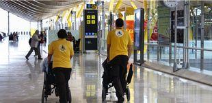 Post de 1,7M de asistencias al año: así atiende Aena a las personas con movilidad reducida