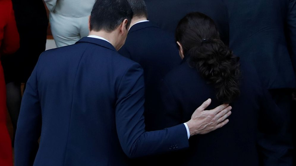Foto: Pedro Sánchez y Pablo Iglesias. (Reuters)