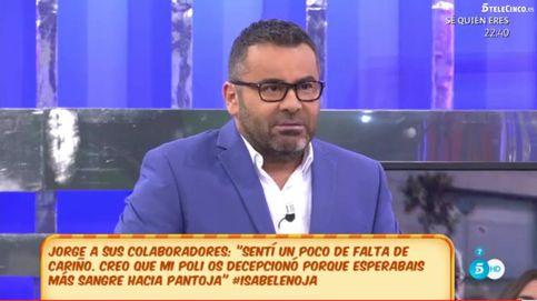 Jorge Javier contra sus compañeros sobre el poli de Pantoja: Esperabais sangre