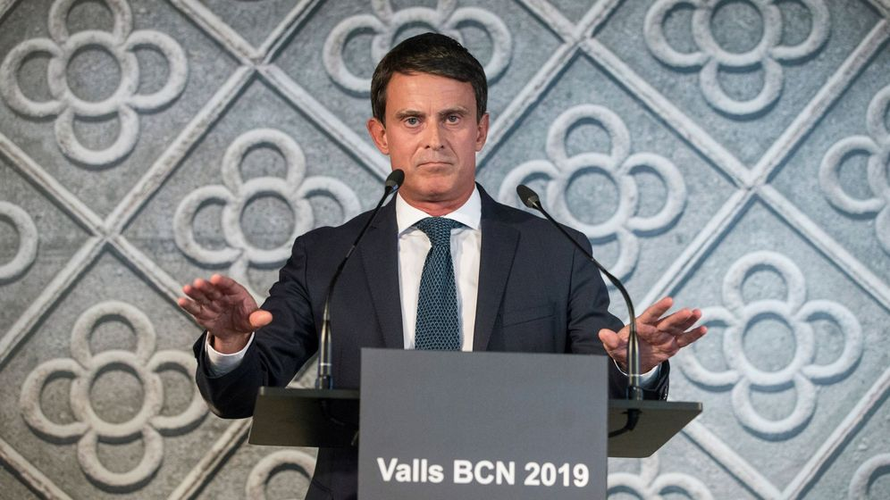 Foto: El exprimer ministro francés y candidarto a la alcaldía de Barcelona Manuel Valls. (EFE)