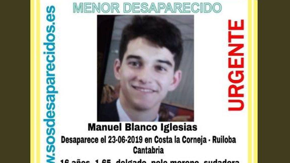 Foto: El menor desaparecido en Cantabria. (Foto: Redes Sociales)
