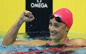 Belmonte sigue en racha y logra el oro en los 800m. libres en Singapur