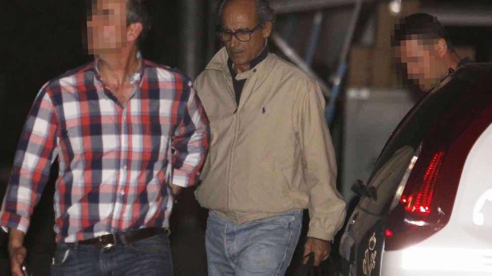 Foto: Edmundo Rodríguez Sobrino (c), uno de los detenidos por corrupción en el Canal y considerado hombre fuerte de González en Latinoamérica. (EFE)