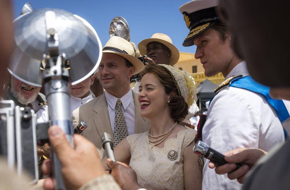 Foto: Secuencia de la segunda temporada de 'The Crown'.