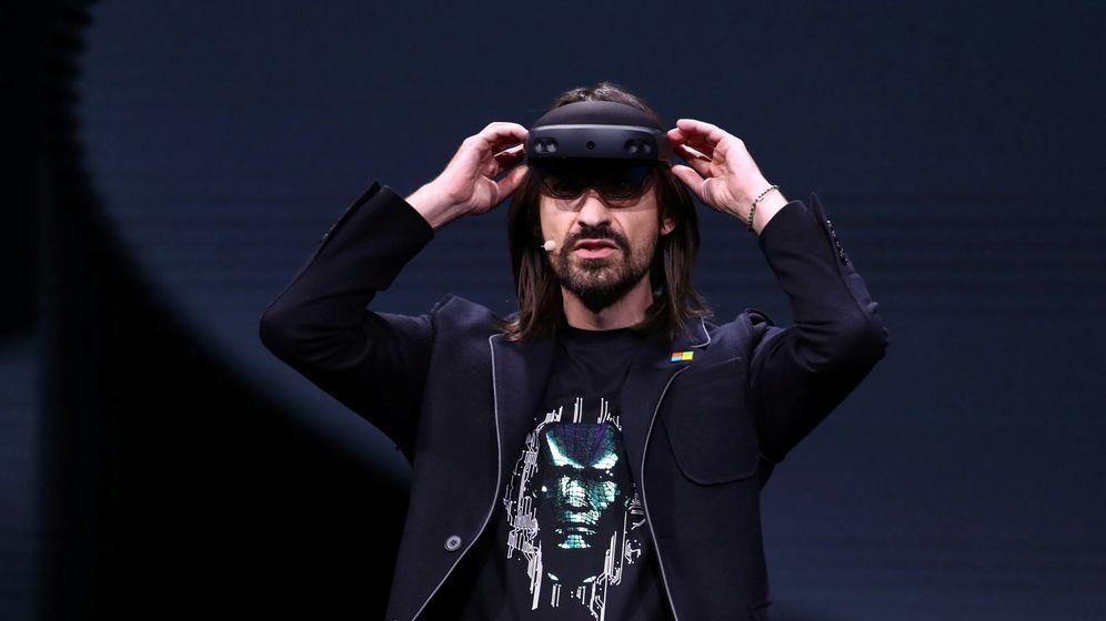 Foto: Las nuevas Hololens 2 de Microsoft (Foto: Reuters)