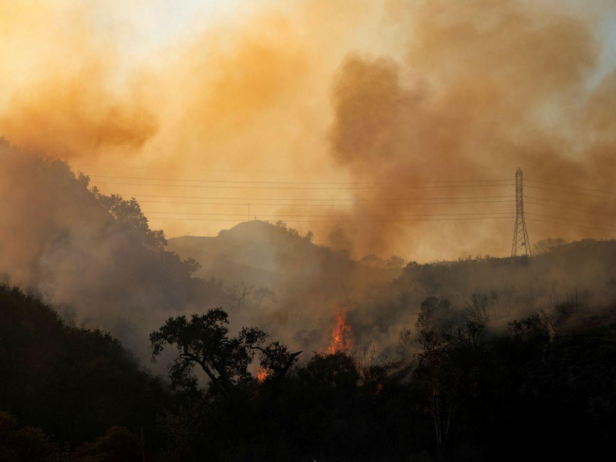 Foto: Incendio en California. (Reuters)