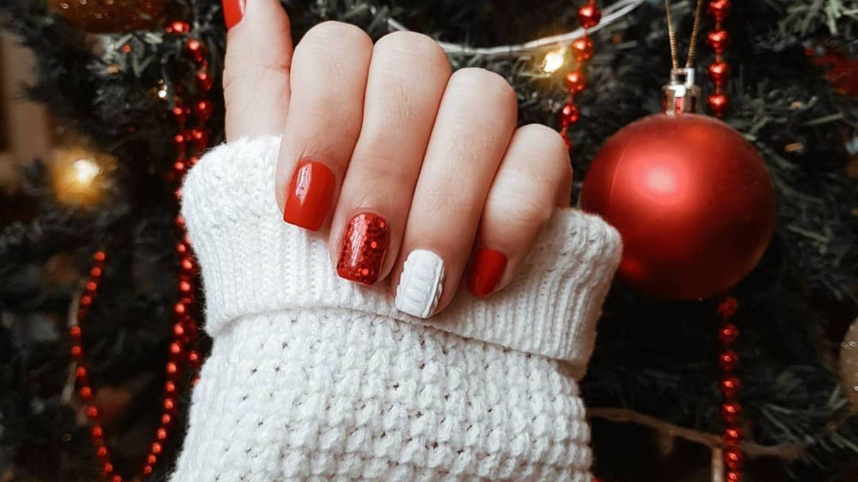 Manicuras fáciles que podrás hacerte en casa para presumir de uñas esta Navidad