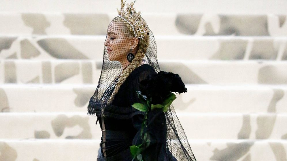 Foto: Madonna, en la última gala del MET. (Reuters)