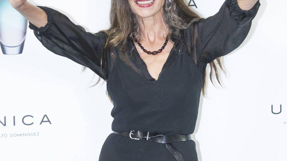 Ángela Molina, icono de belleza tras la polémica del anuncio con sus arrugas