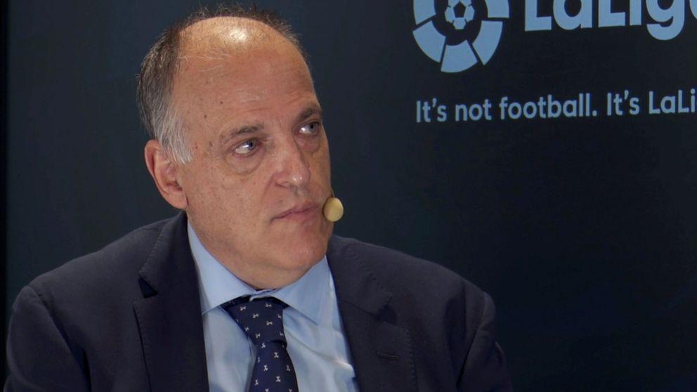 Más lío en la Liga: Tebas suspende el Depor-Fuenla y el club madrileño niega su autoridad