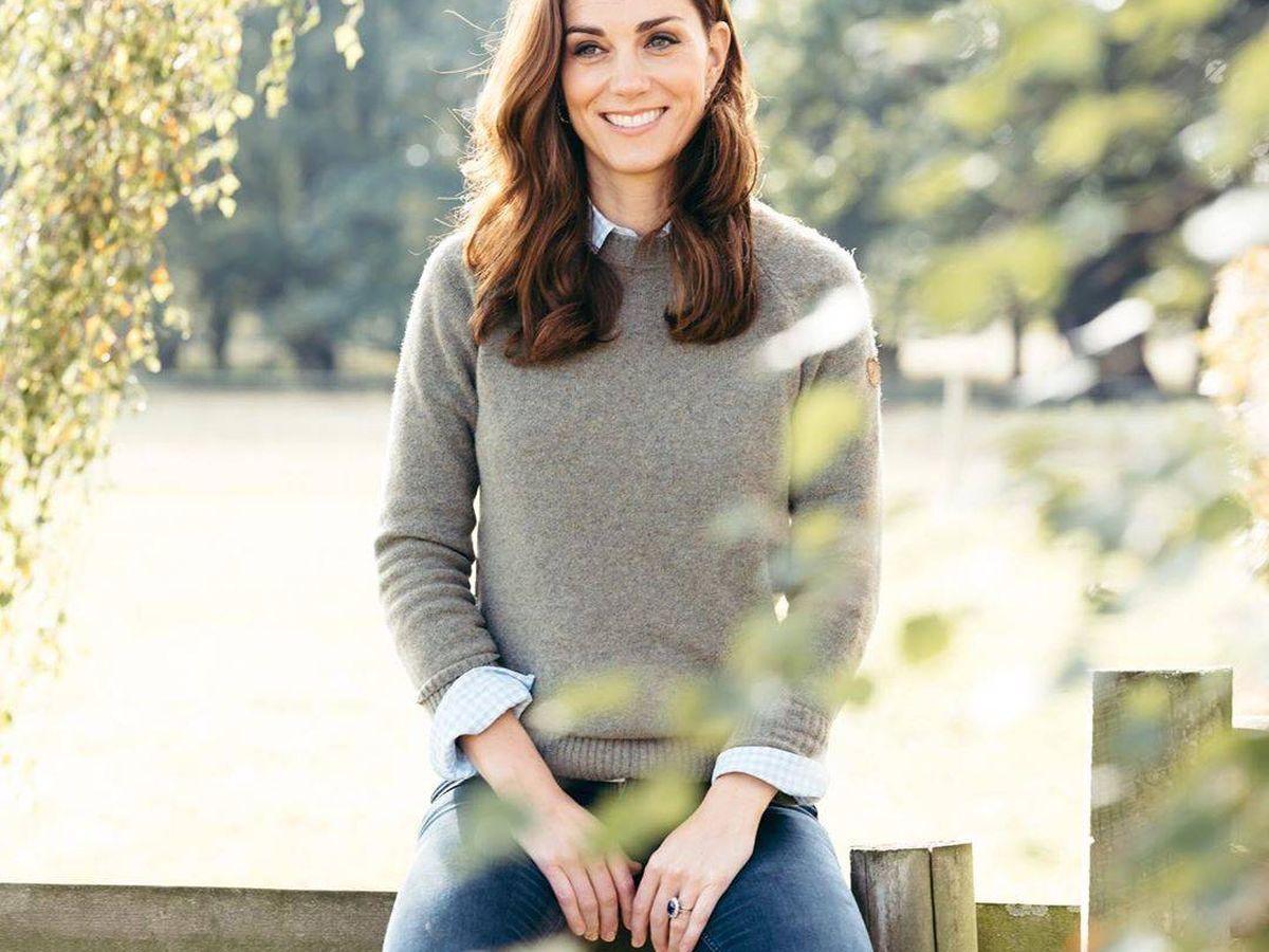 Foto: Kate Middleton, en su último retrato oficial. (Kensington Palace)