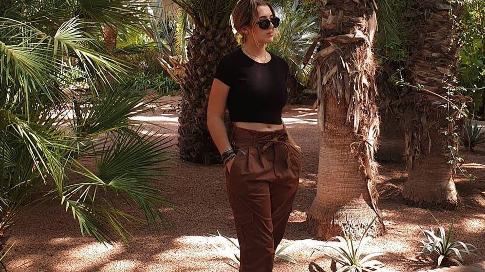 Foto: Alba Díaz posa en Instagram en su viaje por Marrakech. (Instagram)