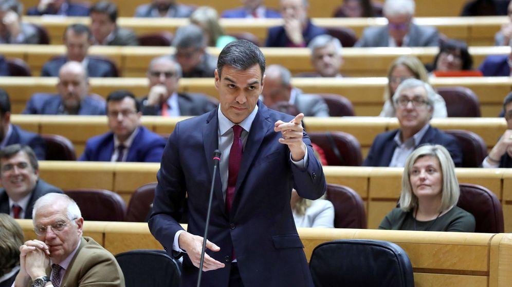 Foto: Sesión de control al Gobierno en el Senado. (EFE)