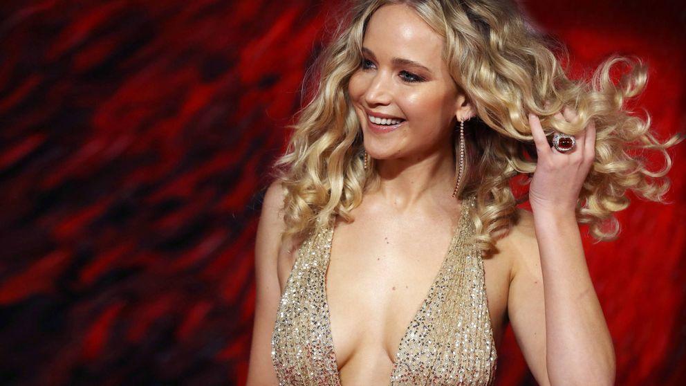 El espectacular vestido con el que Jennifer Lawrence arrasó anoche en Londres