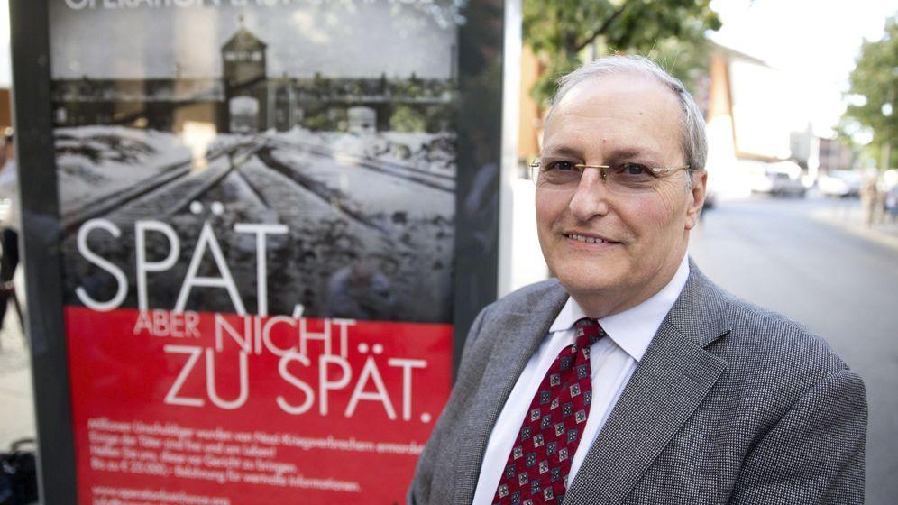 Foto: 'Tarde, pero no demasiado tarde', la campaña del centro Wiesenthal en 2013 para capturar a los últimos nazis libres. (EFE)