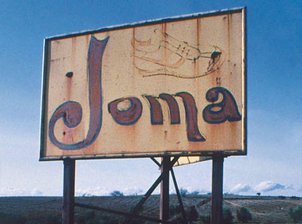 Foto: Imagen de un cartel publicitario de Joma. (FOTOS cedida por Joma)
