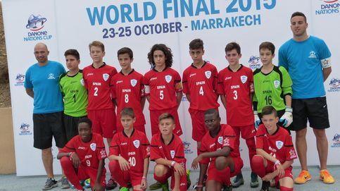 España acaba invicta la primera jornada de la final de la Danone Nations Cup