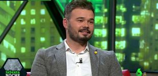 Post de El zasca de Iñaki López a Gabriel Rufián antes de pisar 'La Sexta noche'