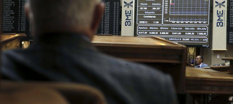 Foto: El Ibex entrega los 9.300 puntos en una sesión marcada por las ventas en Europa