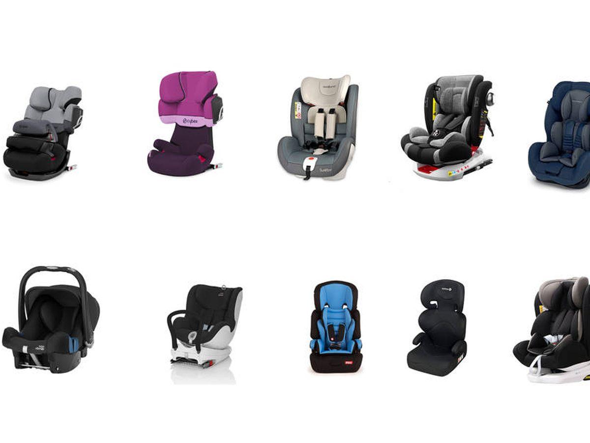 como elegir silla de auto victor