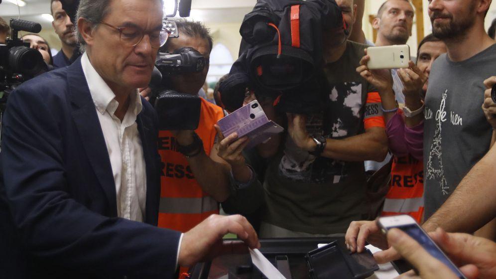 Foto: El expresidente de la Generalitat Artur Mas (EFE)
