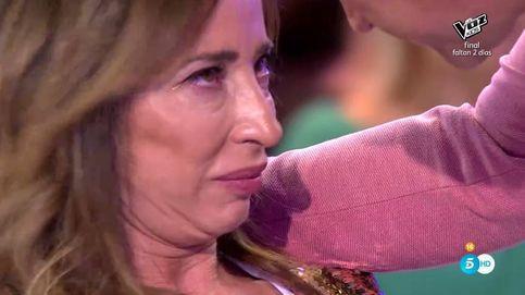 María Patiño se derrumba y abandona el plató tras discutir con Jorge Javier