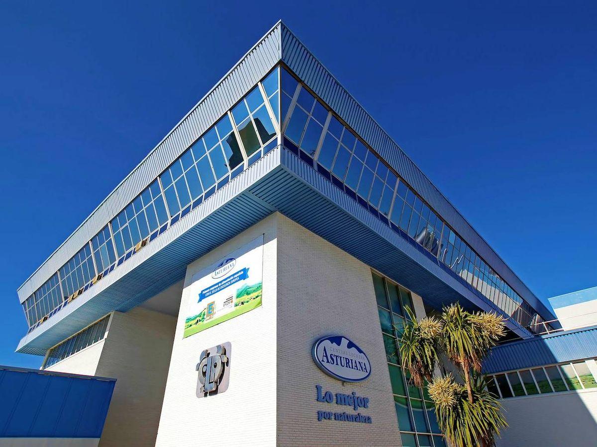 Foto: Una de las fábricas de Central Lechera Asturiana, propiedad de Capsa Food.