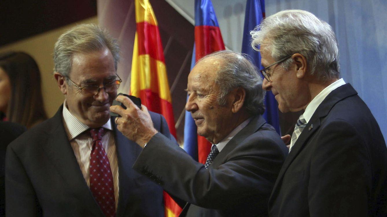 Foto: El expresidente Josep Lluís Núñez (c) en una imagen de archivo (EFE)