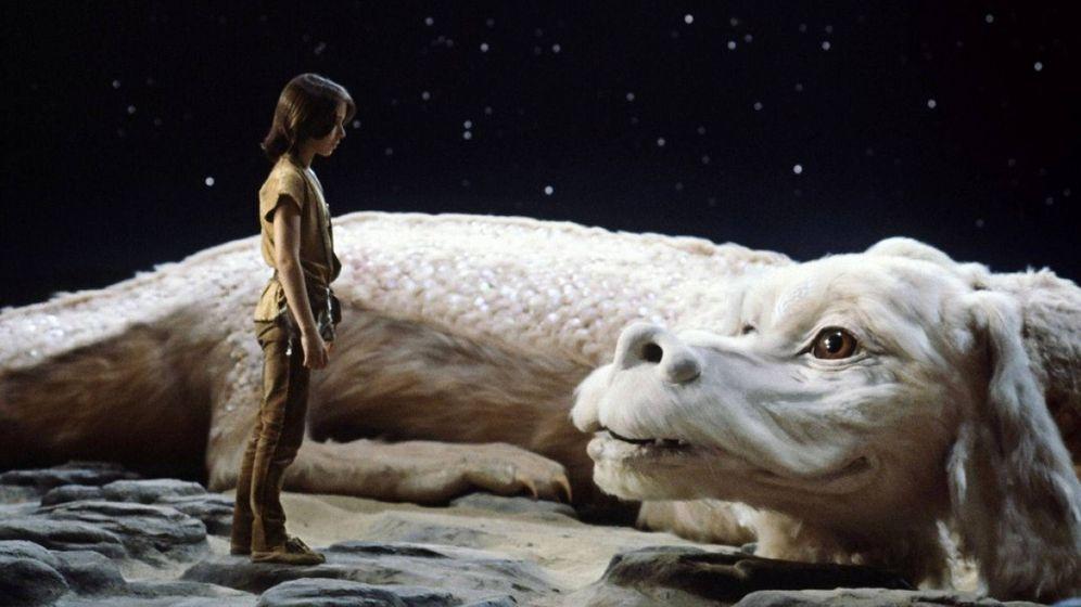 Foto: Fotograma de la película 'La historia interminable'.