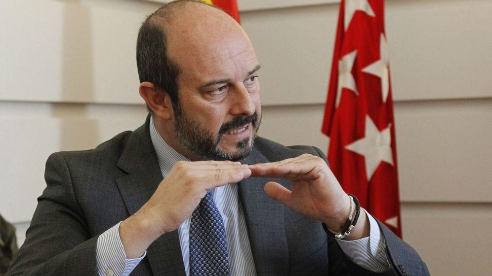 Foto: Pedro Rollán, hasta la fecha consejero de Medio Ambiente