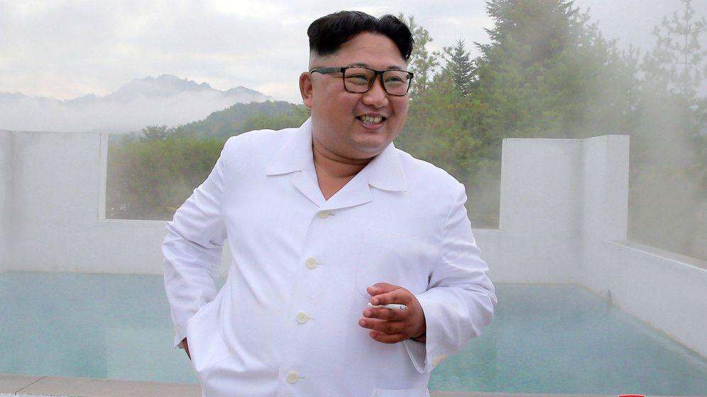 Foto:  Kim Jong-un, en una imagen sonriente. (Reuters)