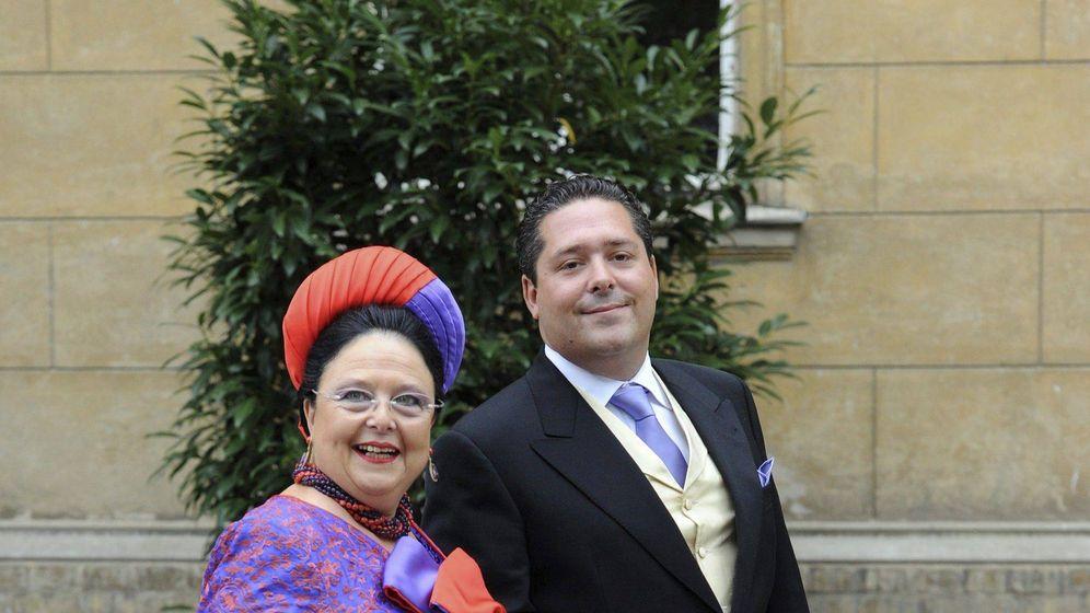 Foto: María de Rusia y su hijo, Jorge Mijáilovich, en una imagen de archivo. (EFE)