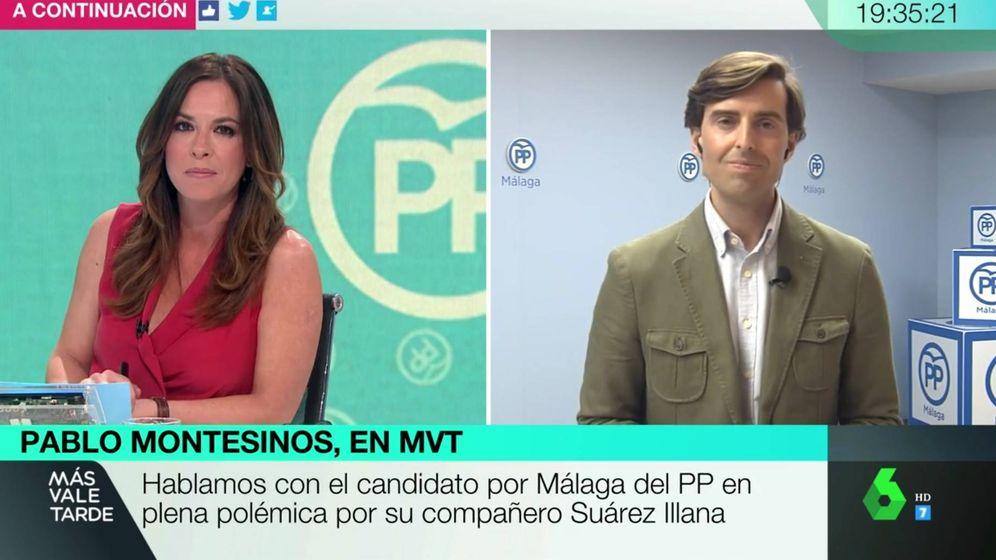 Foto: Mamen Mendizábal y Pablo Montesinos, en 'Ms vale tarde'. (La Sexta).