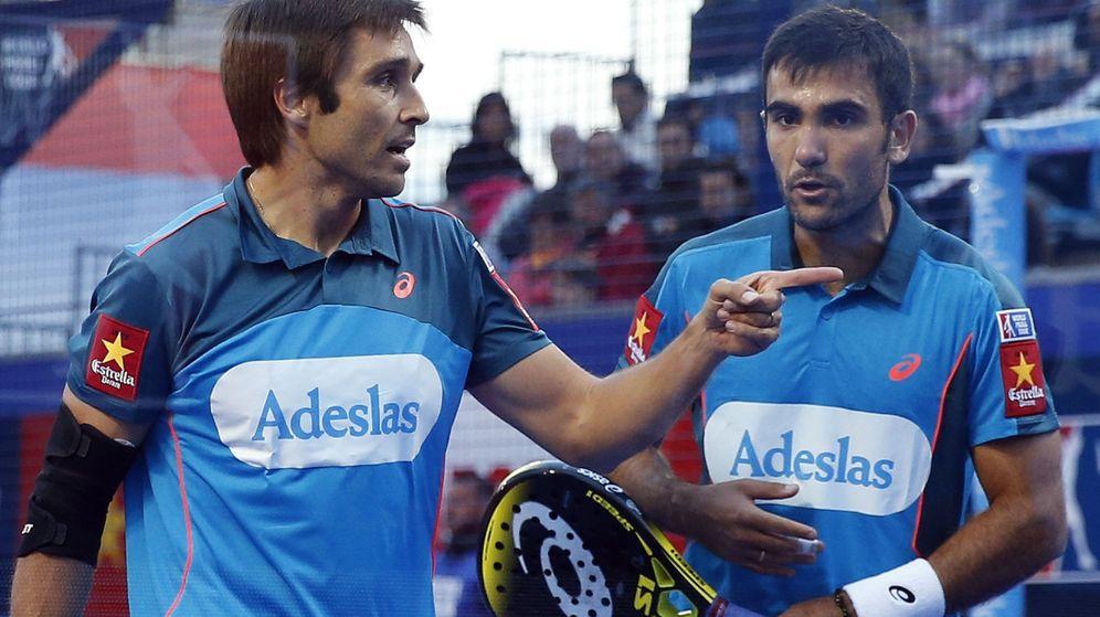 Foto: Bela y Lima regresan a una final (Andreu Dalmau/EFE)