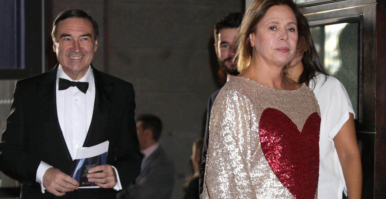 Foto: Pedro J. Ramírez y Agatha Ruiz de la Prada, en una imagen de archivo