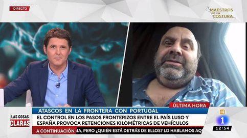 Cintora, tras entrevistar a un camionero atrapado: La España que madruga