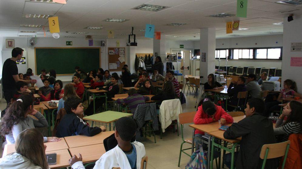 Foto: Vista de un aula del Instituto Padre Piquer de Madrid