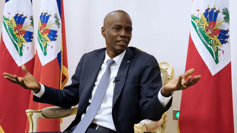 Foto de archivo del presidente haitiano Jovenel Moïse. (EFE)