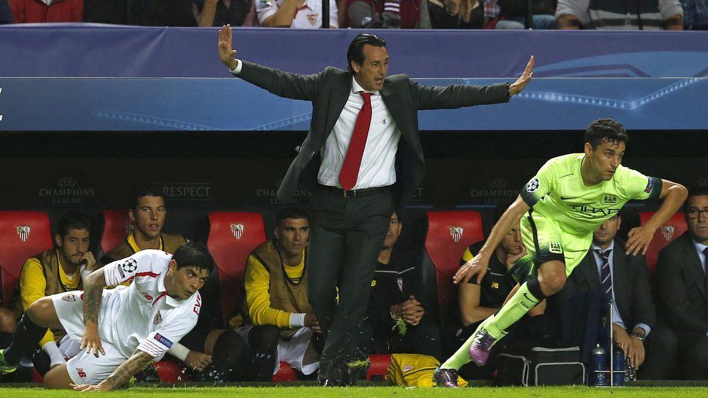 El Sevilla, pendiente de Jesús Navas, que no renueva por el City y acaba en 2017