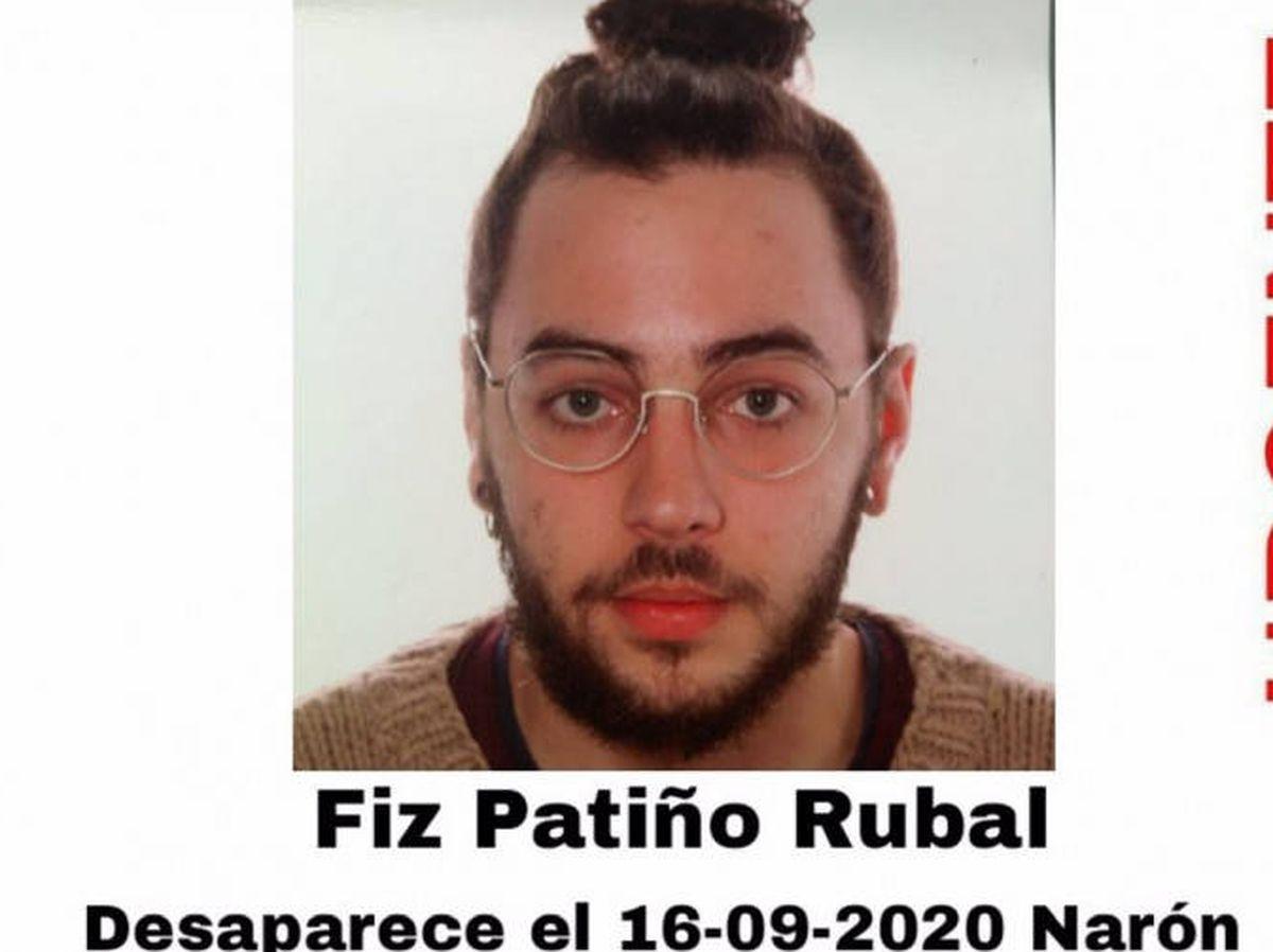 Foto: Fiz Patiño, desaparecido en 2020. Foto: Sos Desaparecidos