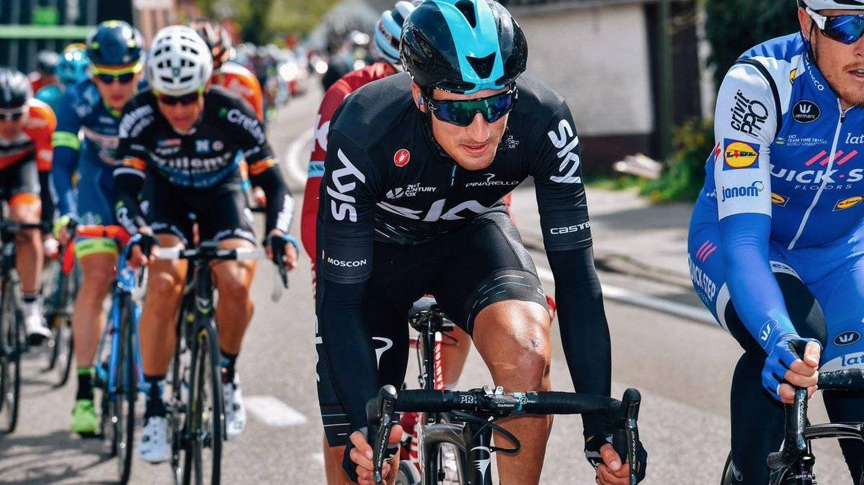 Moscon quedó quinto en la París-Roubaix. (@SkyTeam).