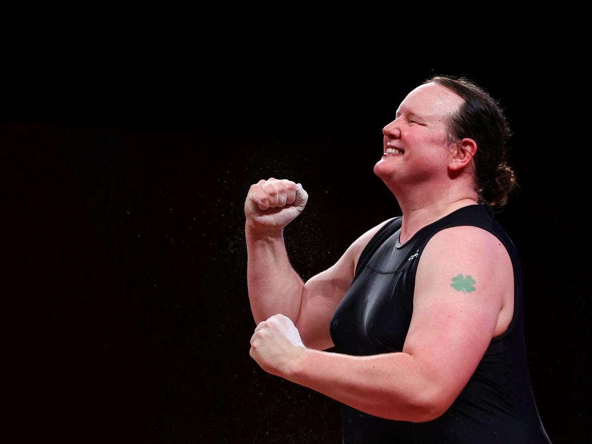Foto: Laurel Hubbard, en los Juegos Olímpicos. (Reuters)