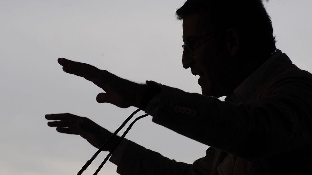 Foto: El presidente de la Xunta y candidato a ser reelegido por tercera vez, Alberto Núñez Feijóo. (EFE)