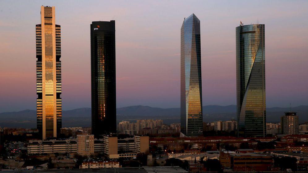 Foto: Las Cuatro Torres del Paseo de la Castellana. (EFE)